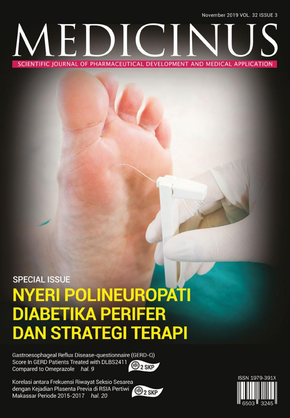 Medicinus Vol. 32 No. 3 - November 2019